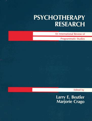 A Sample APA Paper: The Efficacy of Psychotherapeutic